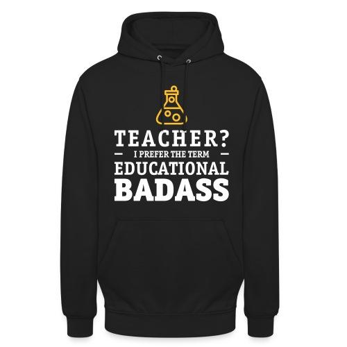 Teacher is a educational badass