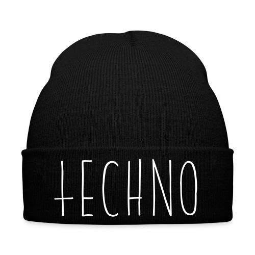 Einfach nur Techno - Wollmütze - Wintermütze