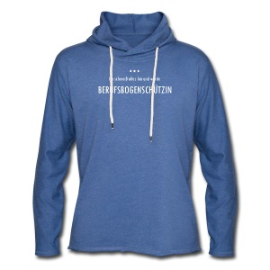 Berufsbogenschützin - Frauen Leichtes Kapuzensweatshirt - Leichtes Kapuzensweatshirt Unisex