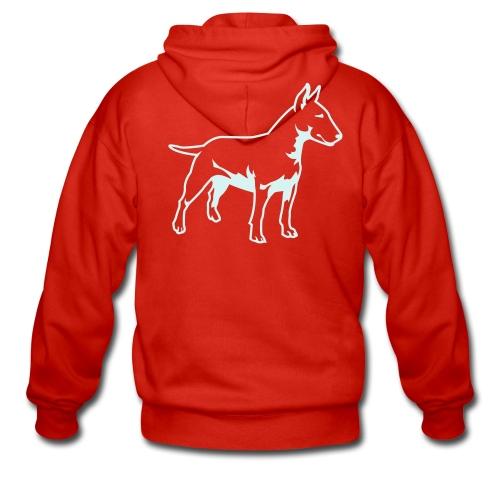 Bull Terrier - Men's Premium Hooded Jacket