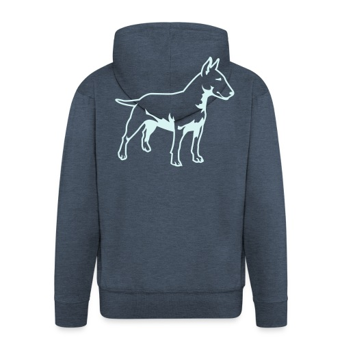 Bull Terrier - Men's Premium Hooded Jacket