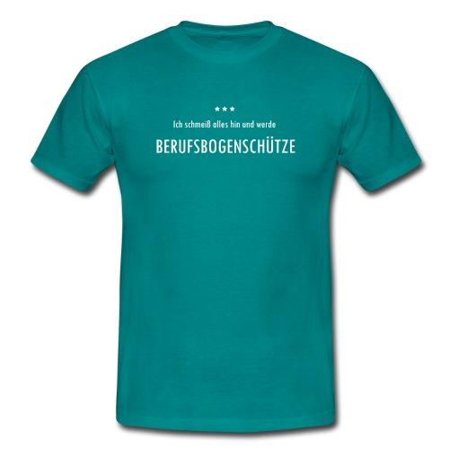Berufsbogenschütze - Männer T-Shirt - Männer T-Shirt