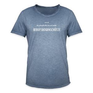 Berufsbogenschütze - Männer Vintage T-Shirt - Männer Vintage T-Shirt