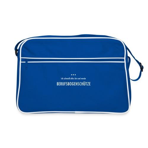 Berufsbogenschütze - Retro Tasche - Retro Tasche