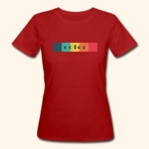 BIO color Damen - Frauen Bio-T-Shirt