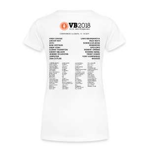 VB Power + Line up (Women's DARK PRINT) - Women's Premium T-Shirt