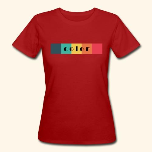 BIO color women - Frauen Bio-T-Shirt