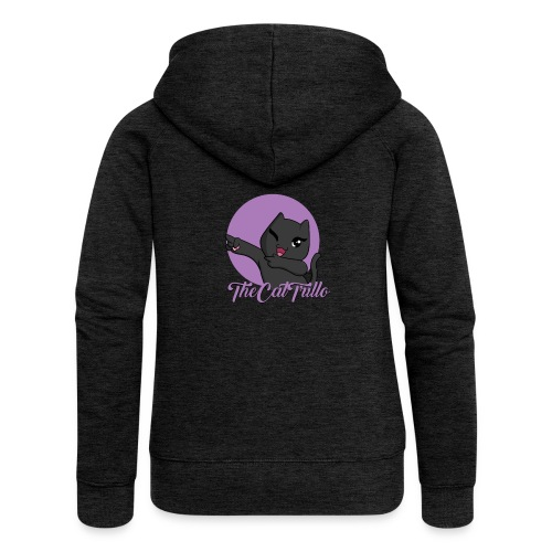 Trillo premium hoodie for ladies - Dame Premium hættejakke