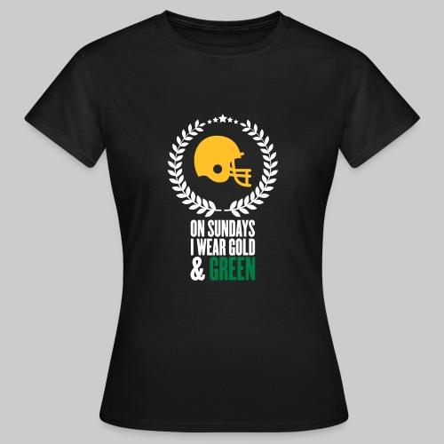 On Sundays | Basic Frauen T-Shirt - Frauen T-Shirt