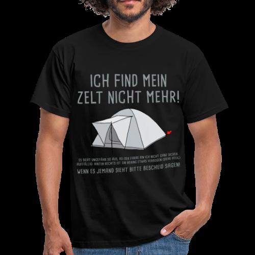 Zelt weg - Männer T-Shirt