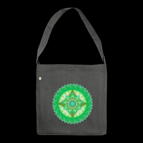 Mandala 01 - Shoulder Bag made from recycled material