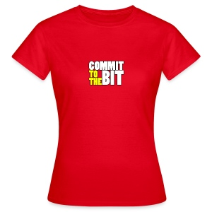 Commit to the Bit Logo Shirt (Female) - Women's T-Shirt