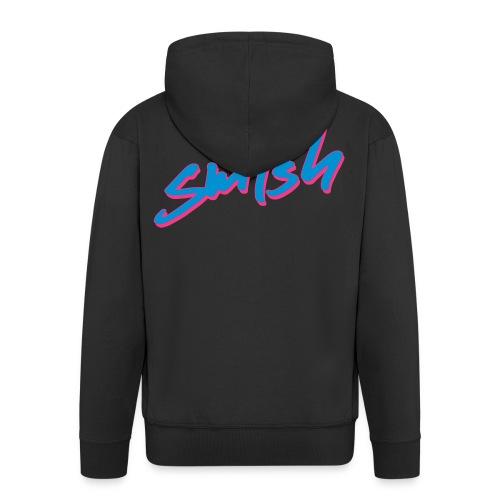 sm4sh Neon - Männer Premium Kapuzenjacke
