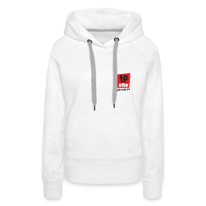 Hoody TP1 Logo Black Text - ladies - Women's Premium Hoodie