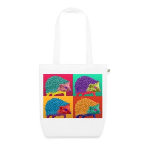 Igel Pop-Art-Shopper - Bio-Stoffbeutel
