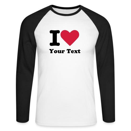 Men´s raglan longsleeve - Men's Long Sleeve Baseball T-Shirt