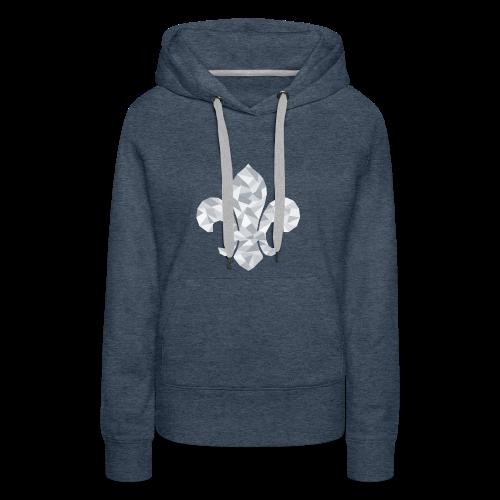 Fleur-de-Lys - Women's Premium Hoodie