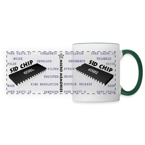 Programmer's Mug with C64 6581 SID Chip - Panoramic Mug