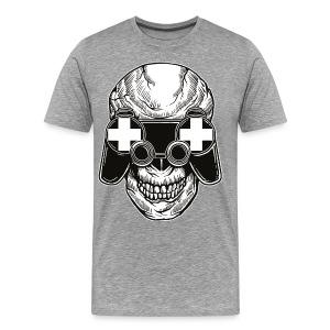 Controller skull shirt - Men's Premium T-Shirt