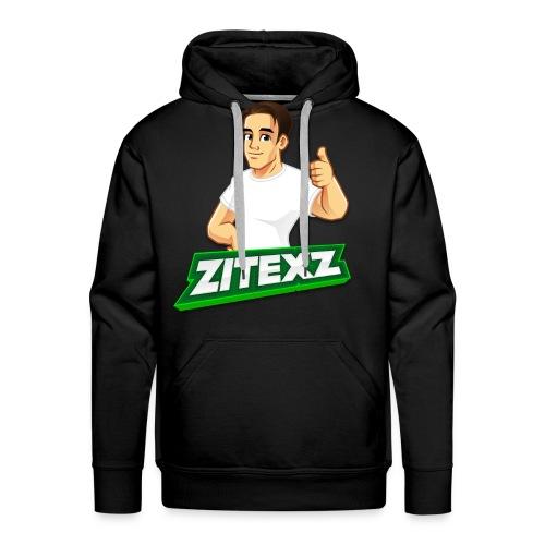 ZitexZ Hoodie (Men) - Herre Premium hættetrøje