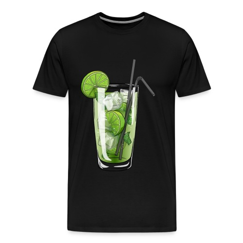 Cocktail MOJITO - T-shirt Premium Homme