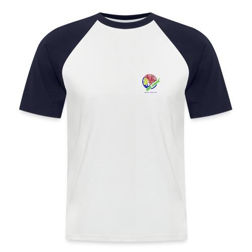 Classic Logo auf Vorder- und Rückseite - Männer Baseball-T-Shirt