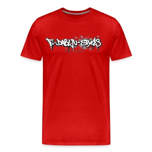 ti-dablju-styles Logo - Männer Premium T-Shirt