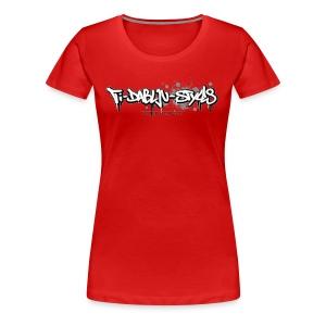 ti-dablju-styles Logo - Frauen Premium T-Shirt