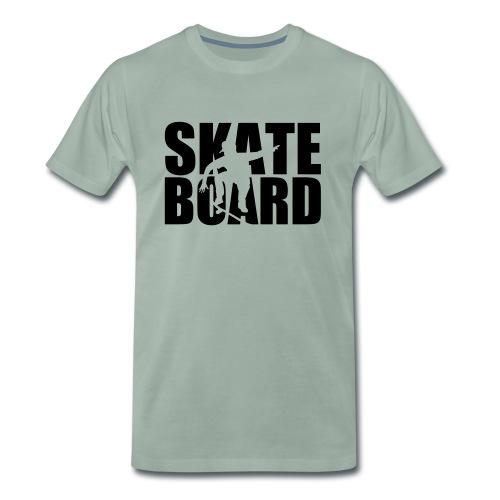 Skateboard - Mannen Premium T-shirt