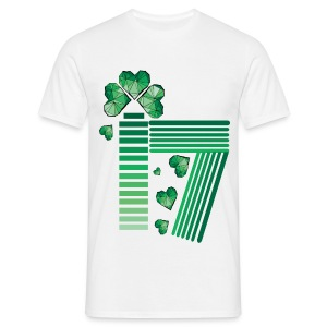 March 17 lucky day St.Patrick's day - Men's T-Shirt