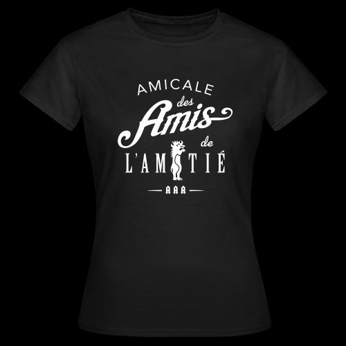 Tee Femme AAA logo 2 - T-shirt Femme