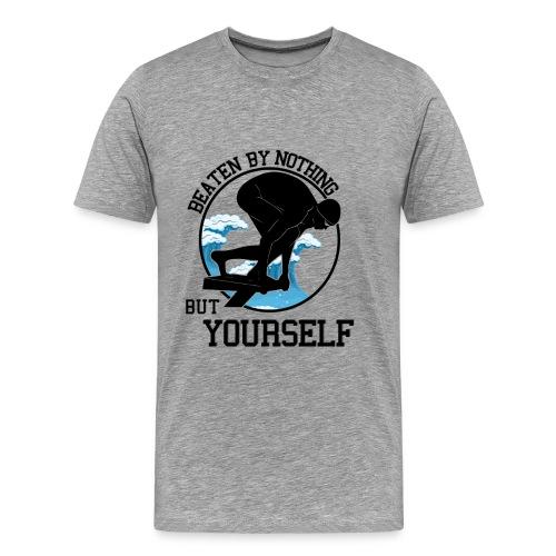 Schwimmen Motivation Premium Shirt für Männer - Männer Premium T-Shirt
