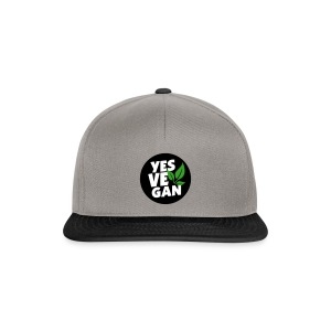 Yes Vegan / Yes ve gan (3c) - Snapback Cap