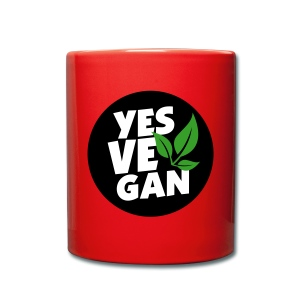 Yes Vegan / Yes ve gan (3c) - Tasse einfarbig