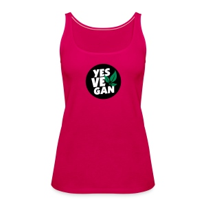 Yes Vegan / Yes ve gan (3c) - Frauen Premium Tank Top