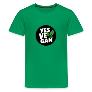 Yes Vegan / Yes ve gan (3c) - Teenager Premium T-Shirt