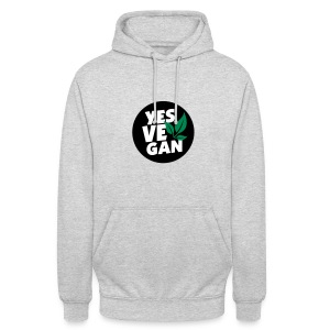 Yes Vegan / Yes ve gan (3c) - Unisex Hoodie