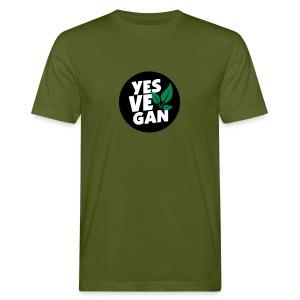 Yes Vegan / Yes ve gan (3c) - Männer Bio-T-Shirt