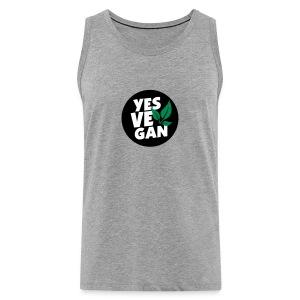 Yes Vegan / Yes ve gan (3c) - Männer Premium Tank Top