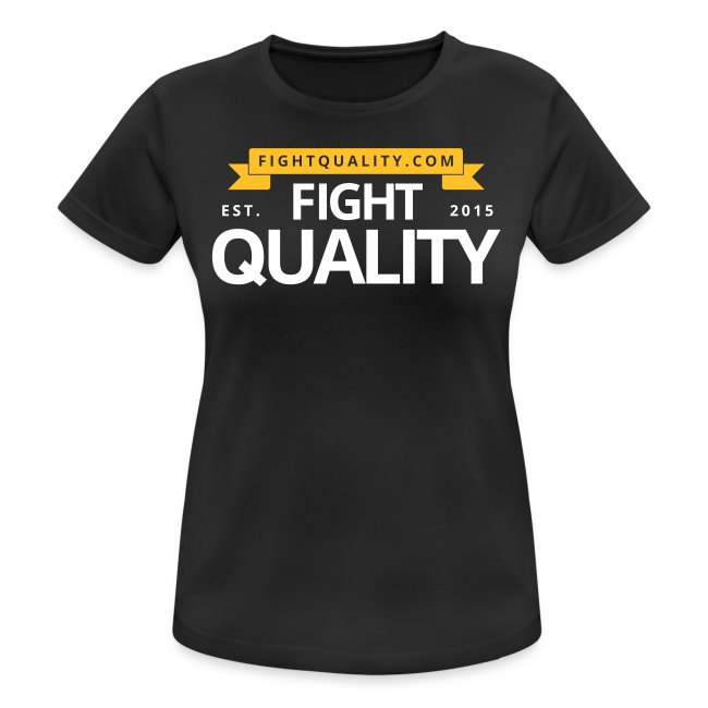 Womens Breathable FQ Training T-Shirt