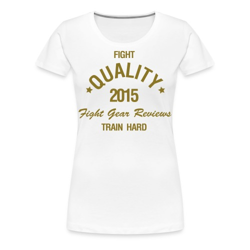 Womens FQ Gold T-Shirt - Women's Premium T-Shirt