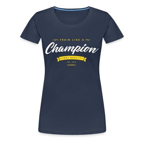 Womens Champion T-Shirt - Women's Premium T-Shirt
