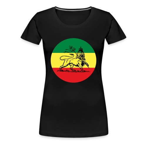 Lion of Judah - Empire ot Ethiopia - Rasta Queen Shirt - Frauen Premium T-Shirt
