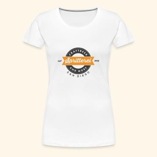 Shirt Ladies San Diego - Frauen Premium T-Shirt