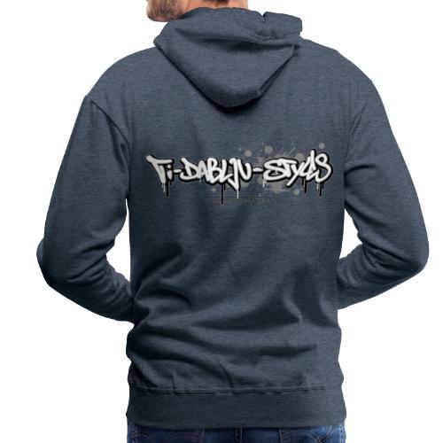ti-dablju-styles Logo - Männer Premium Hoodie