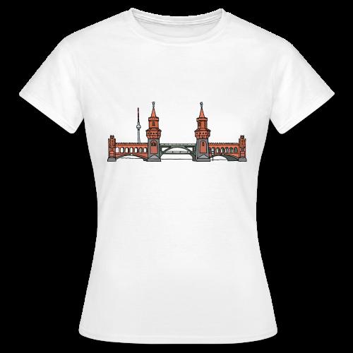 Oberbaumbrücke in Berlin - Frauen T-Shirt