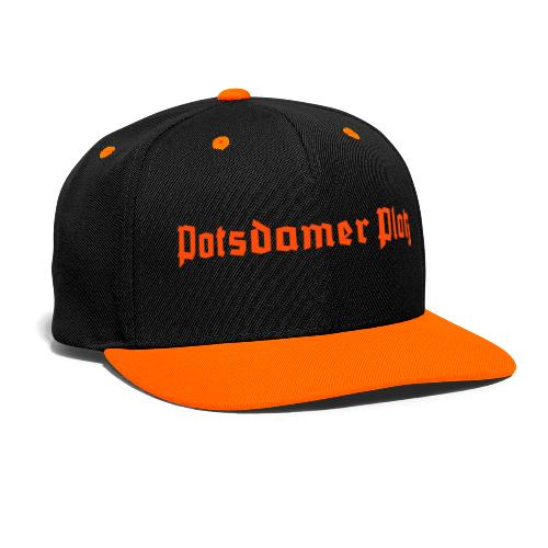 Potsdamer Platz Berlin  - Kontrast Snapback Cap