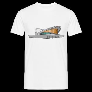 Kongresshalle Schwangere Auster Berlin - Camiseta hombre