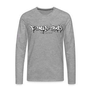 ti-dablju-styles Logo - Männer Premium Langarmshirt