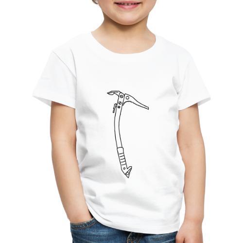 Eispickel Klettern - Kinder Premium T-Shirt